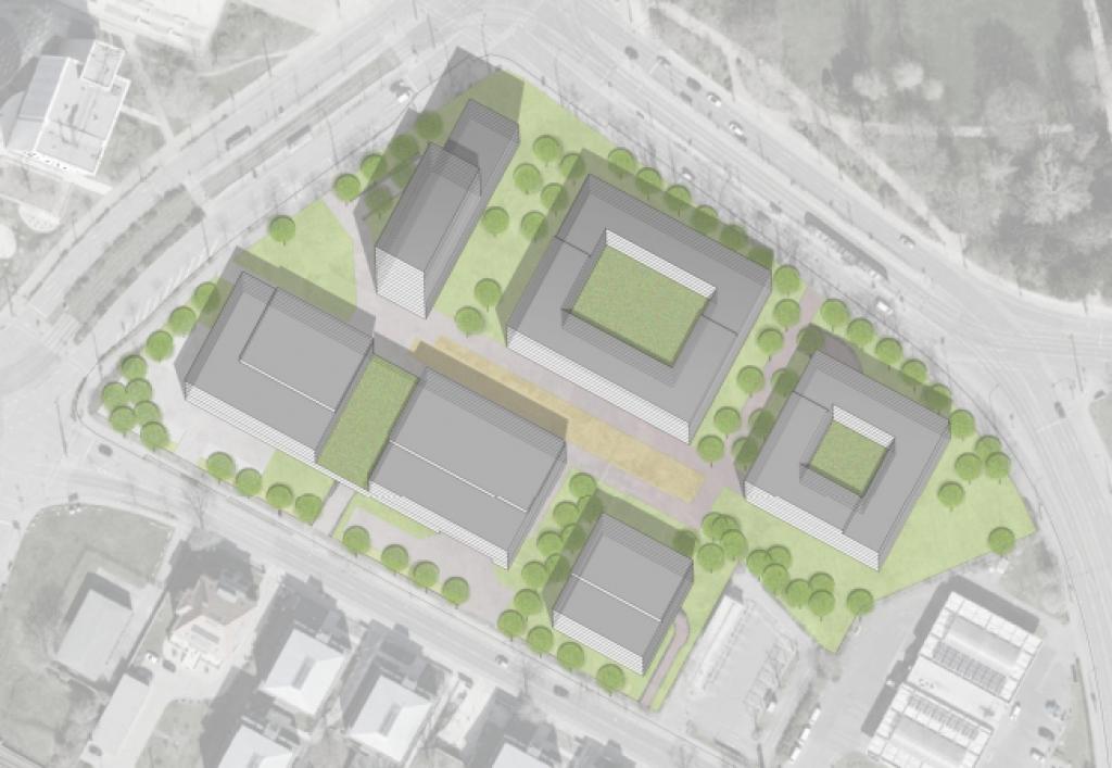 Die ZBI entwickelt ein Quartier in Dresden