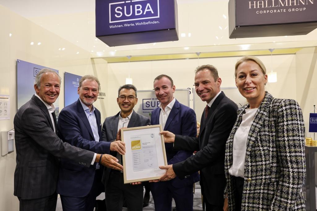 SÜBA mit DGNB-Zertifikat in Gold für Bauprojekt in der Breitenfurter Straße
